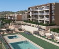 ESPMI/AF/002/37/81A118/00000, Majorca, Font de Sa Cala, newly built flat with communal pool and garden for sale